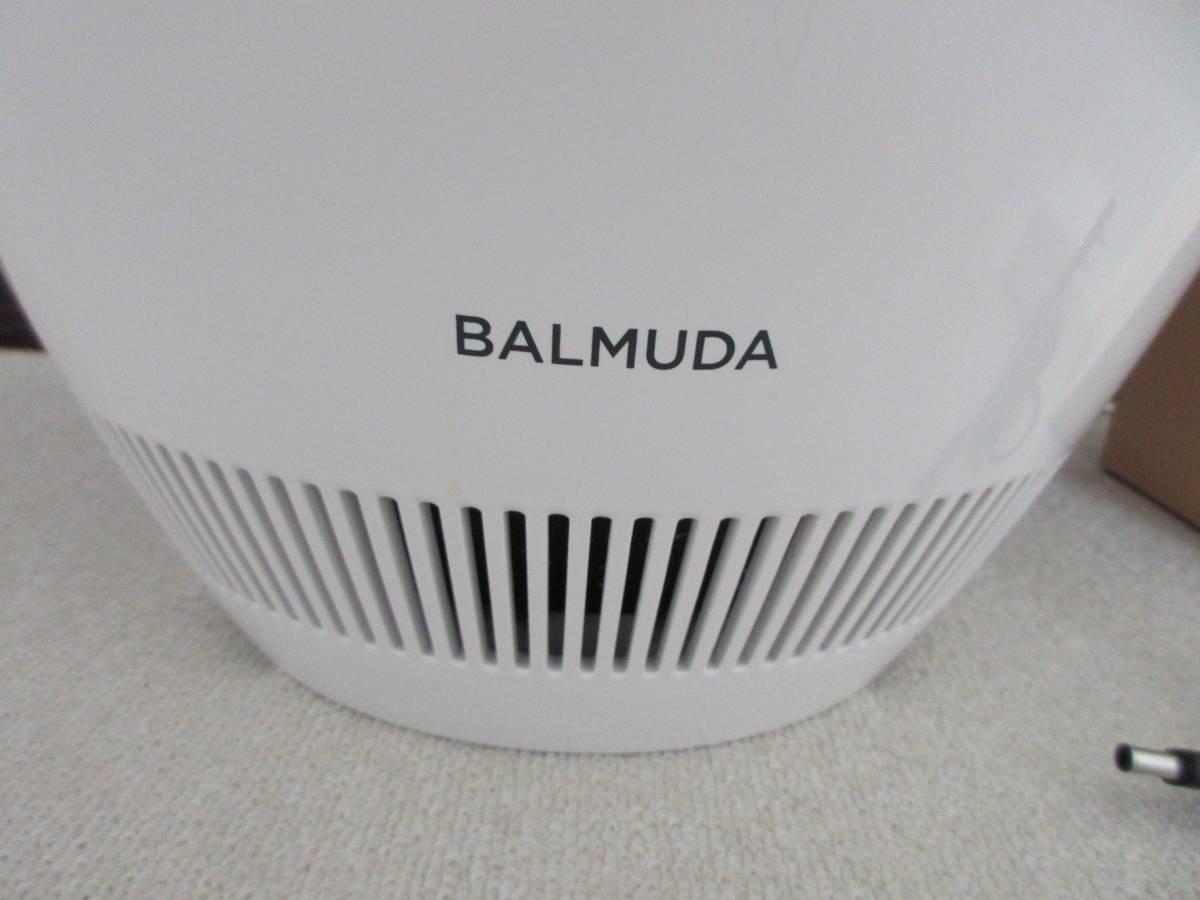 中古◆BALMUDA バルミューダ 気化式加湿器 Rain ERN-1100UA-WK 2017年製 UniAuto対応Wi-Fiモデル ホワイト フィルターセット付◆加湿器_画像4