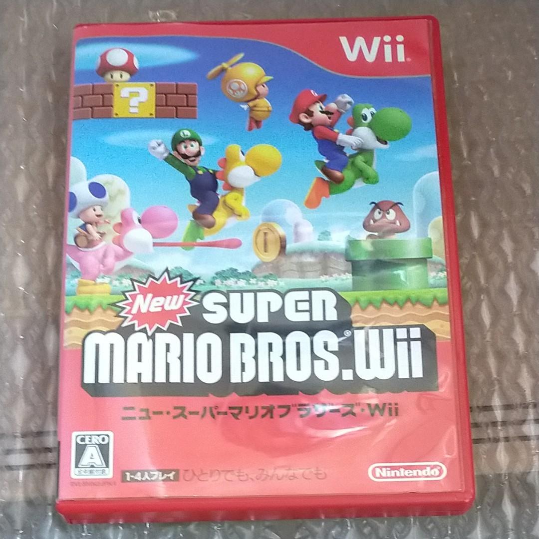 任天堂 ニンテンドー New スーパーマリオ ブラザーズ Wii ゲーム ソフト