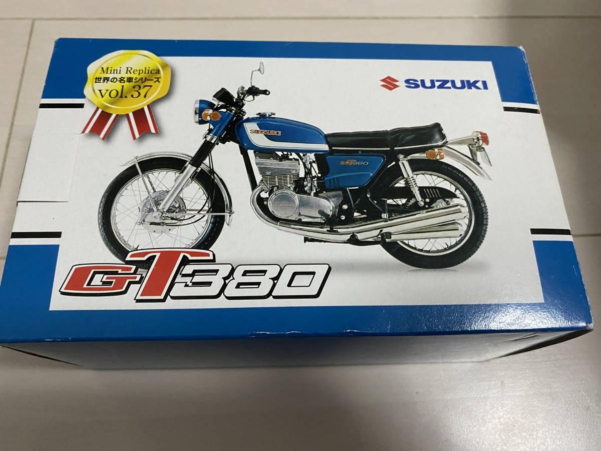 レッドバロン SUZUKI GT380 世界の名車シリーズ 38 非売品 バイク フィギュア 中古_画像1