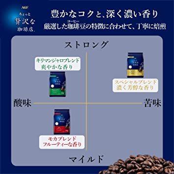 新品◆ XD320g AGFOQ-B0ちょっと贅沢な珈琲店 レギュラーコーヒー スペシャルブレンド 320g 【 コーヒー 粉 _画像3