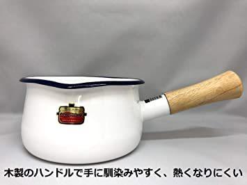 【新品未使用】グリーングリーンソリッド富士ホーローSD15MGミルクパン15cm片手鍋 `_画像3