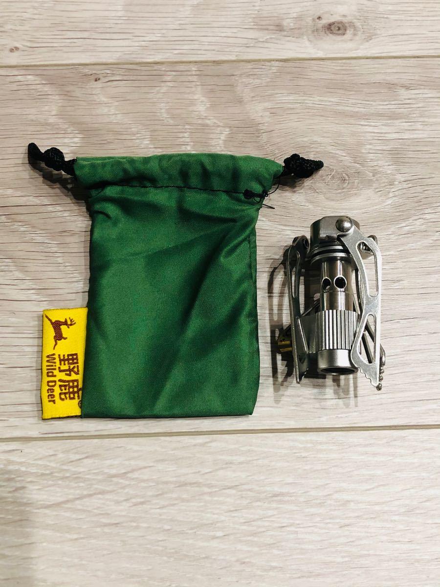 ★新品★超小型 軽量 キャンプ用ストーブ シングルバーナー OD缶対応