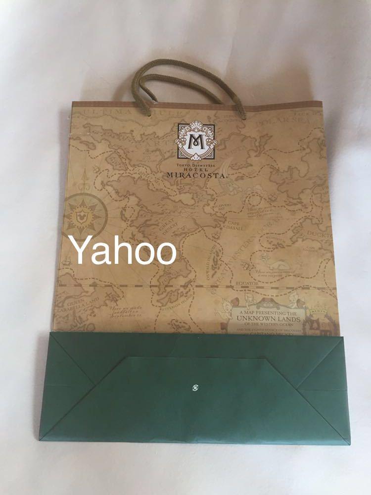 ホテル ミラコスタ 宿泊限定 ペーパーバッグ ディズニーシー 紙袋 非売品 ノベルティグッズ TOKYO Disney SEA Hotel MIRACOSTA_画像2