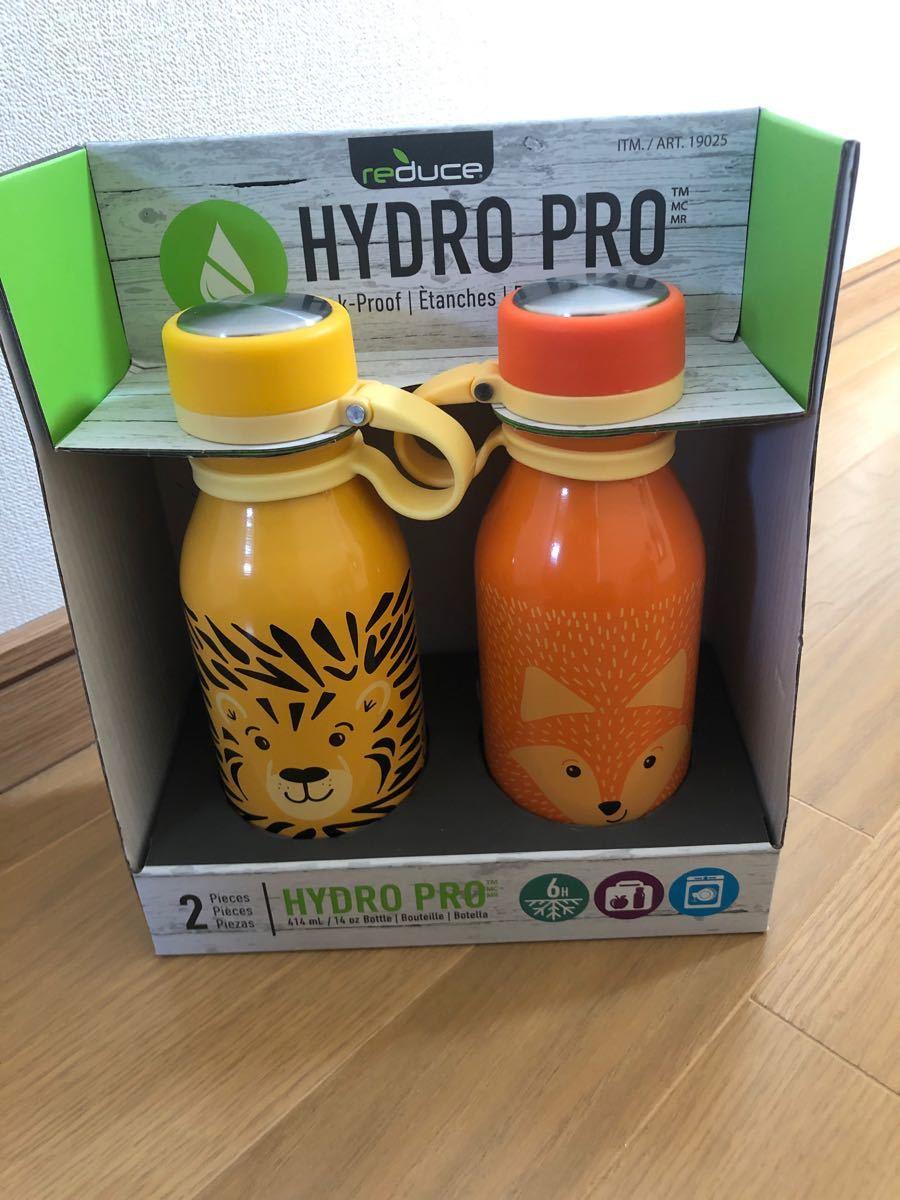 水筒 HYDRO PRO  キッズ用 ステンレス 保冷 ボトル