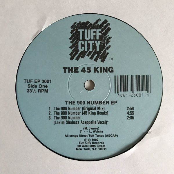 The 45 King - The 900 Number EP【USオリジナル】