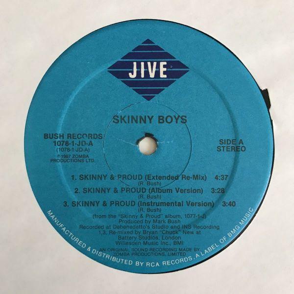 Skinny Boys - Skinny & Proud【USオリジナル】【Bill Conti/James Brownネタ】
