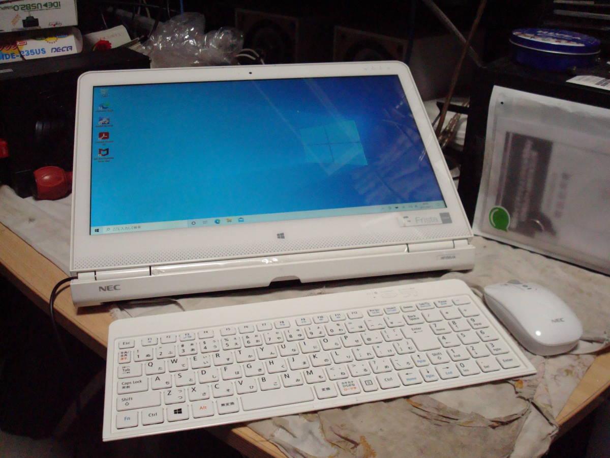 Windows10 15.6フルHDタッチパネル HD1TB メモリ4GB NEC PC-HF150AAW 送料無料_画像1