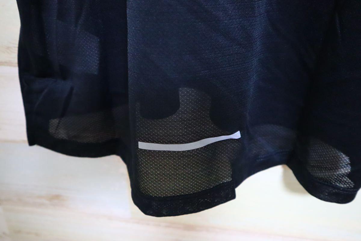 新品 Mサイズ NIKE ナイキ メンズ ドライフィット マイラー ランニング タンクトップ 黒 ブラック