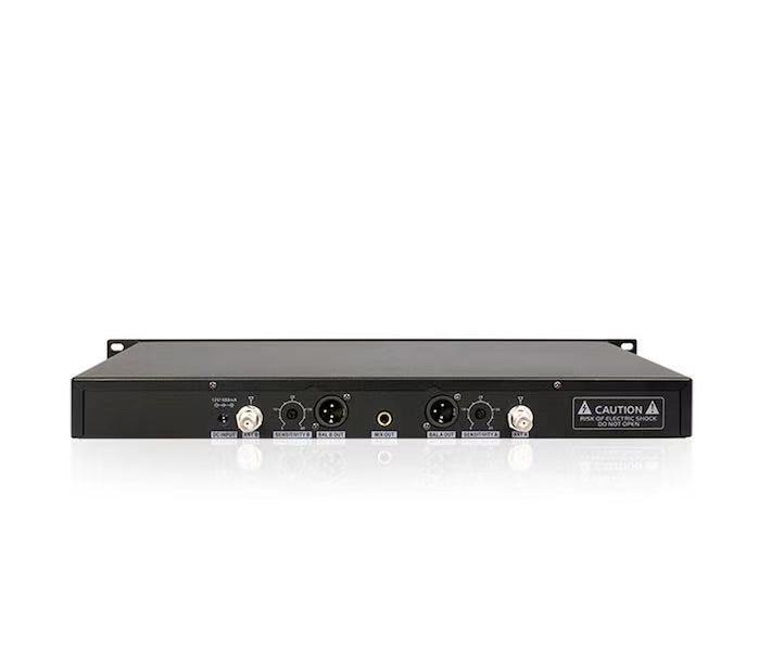 プロ仕様UHFワイヤレスマイクシステム Wireless Microphone_画像2