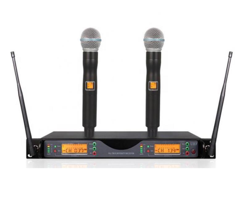 プロ仕様UHFワイヤレスマイクシステム Wireless Microphone_画像3