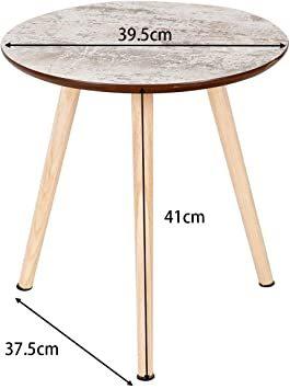 ナチュラル サイドテーブル ミニテーブル ナイトテーブル カフェテーブル 丸テーブル ソファサイドテーブル ティータイム 寝室_画像2