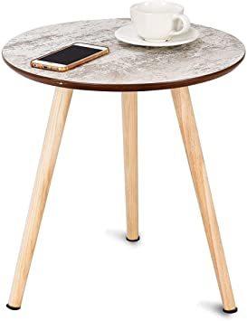 ナチュラル サイドテーブル ミニテーブル ナイトテーブル カフェテーブル 丸テーブル ソファサイドテーブル ティータイム 寝室_画像1