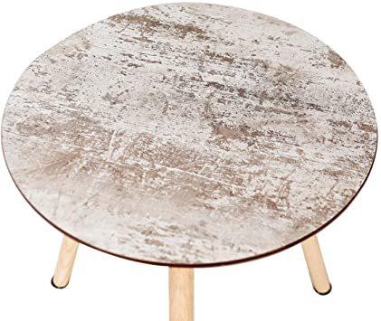 ナチュラル サイドテーブル ミニテーブル ナイトテーブル カフェテーブル 丸テーブル ソファサイドテーブル ティータイム 寝室_画像5