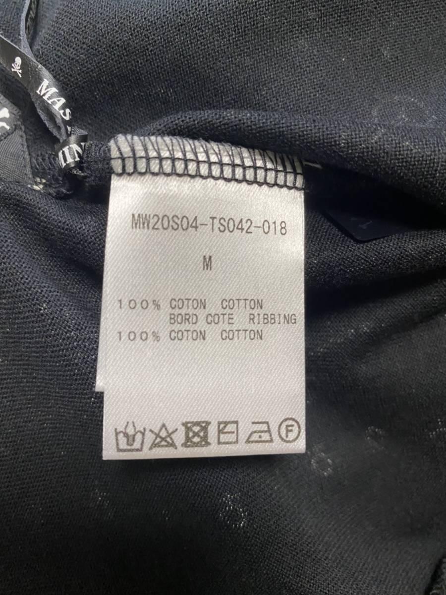 未使用 20ss MASTERMIND WORLD マスターマインド ワールド スカル バンダナ Tシャツ M_画像3