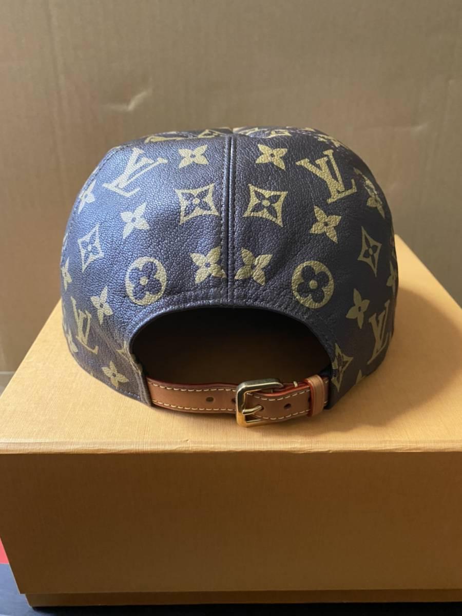 国内正規 Louis Vuitton × Supreme ルイヴィトン シュプリーム 5-Panel Hat モノグラム キャップ_画像2