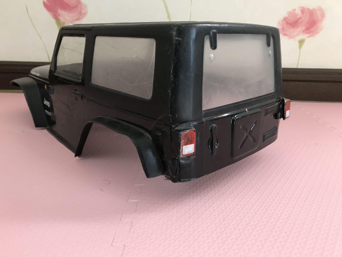 送料無料 1/10 ジープ ラジコン ボディ JEEP オフロードカーやバギーに ルビコン RUBICON