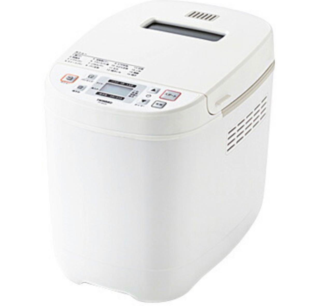 ツインバード ホームベーカリー 1斤/1.5斤対応 ホワイト PY-E635W