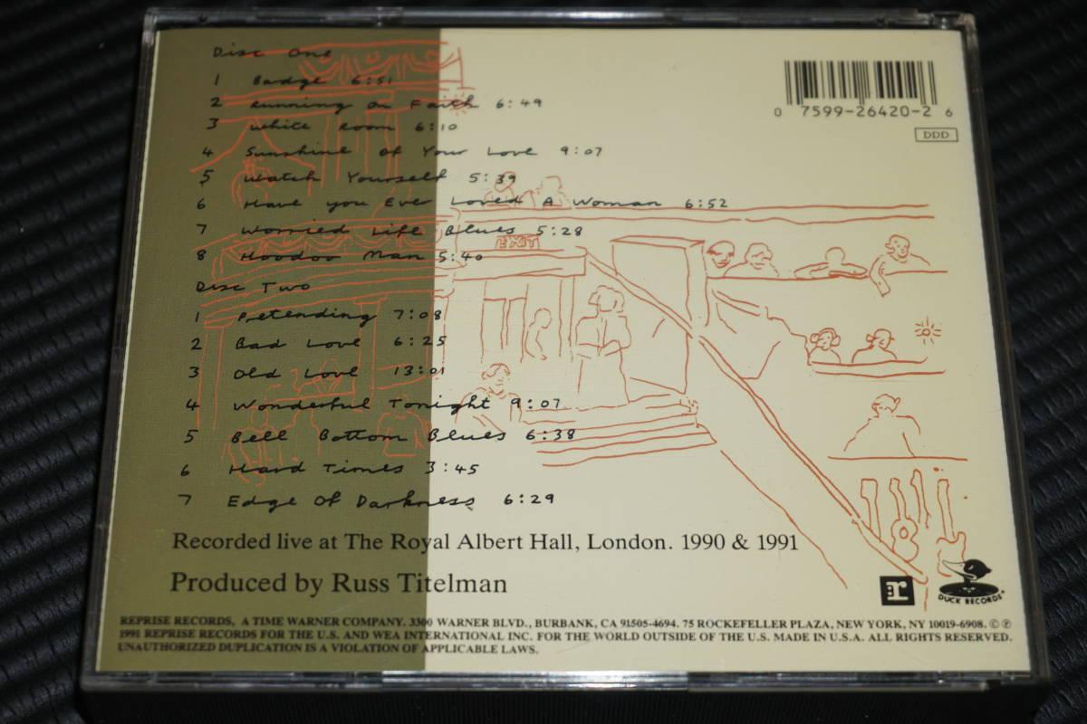 ◆Eric Clapton◆ エリック・クラプトン 24 Nights Live CD 2枚組 輸入盤