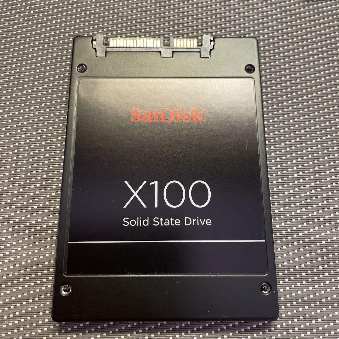 SanDisk SSD 2.5インチSATA 128GB使用時間1672h