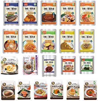 非常食セット 美味しい防災食 7日分 「おかず・お惣菜・麺類 豪華21種類セット」_画像1