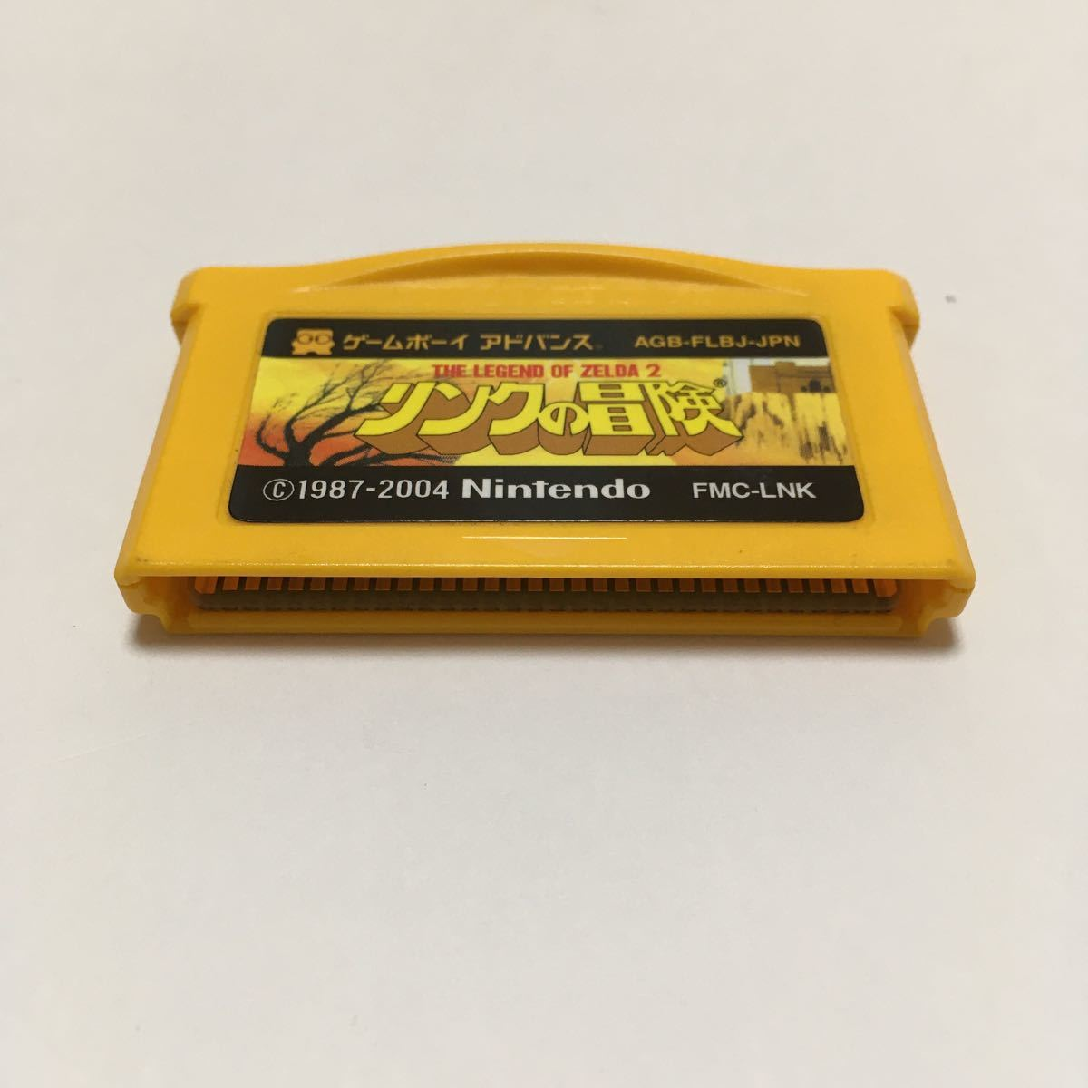 ゲームボーイアドバンス ソフト リンクの冒険 ファミコンミニ GBA 動作確認済み ゼルダの伝説