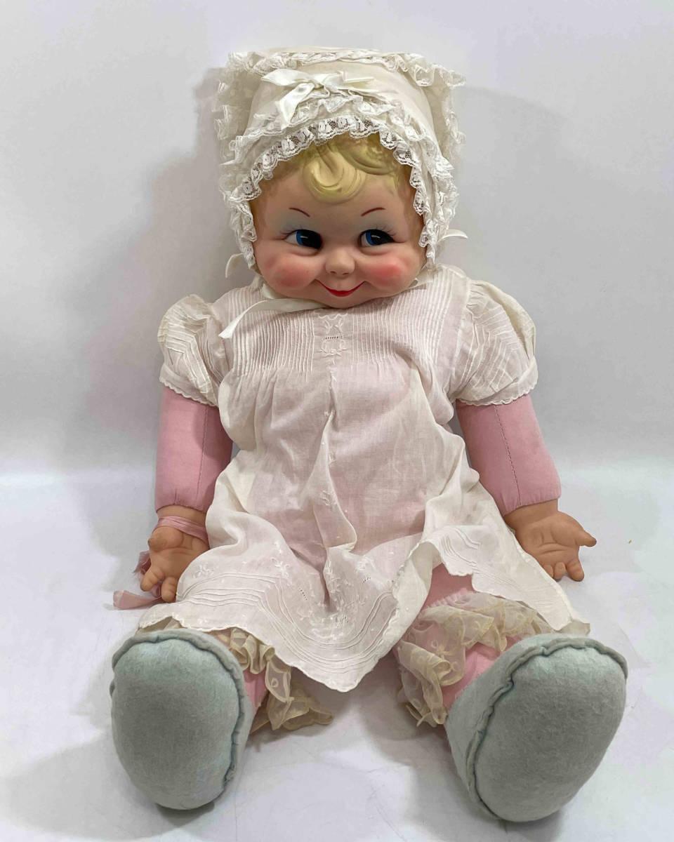 ★Rushton ラシュトン Little Bo Peep Doll 女の子 55cm お人形 ラバーフェイス ぬいぐるみ m5