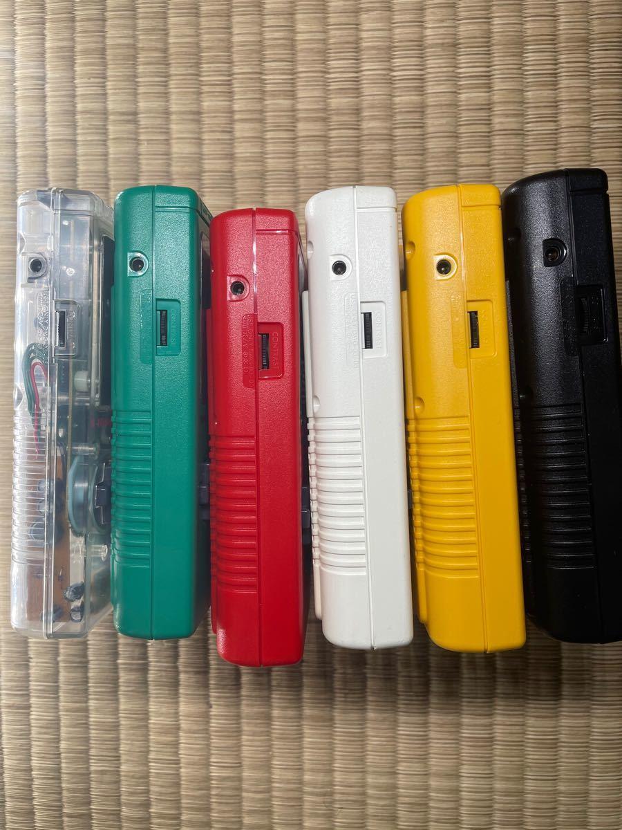 初代ゲームボーイ 六種色
