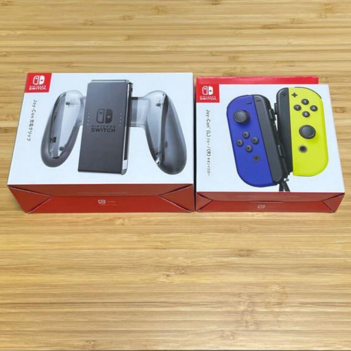 Nintendo Switch Joy-Con(L) ブルー/ (R) ネオンイエロー ジョイコン 任天堂スイッチ コントローラー