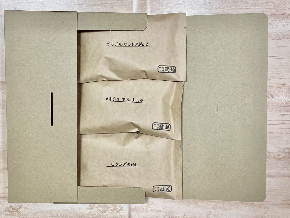 【4月限定】単品飲み比べセット 自家焙煎コーヒー豆3種(100g×3個)_画像2