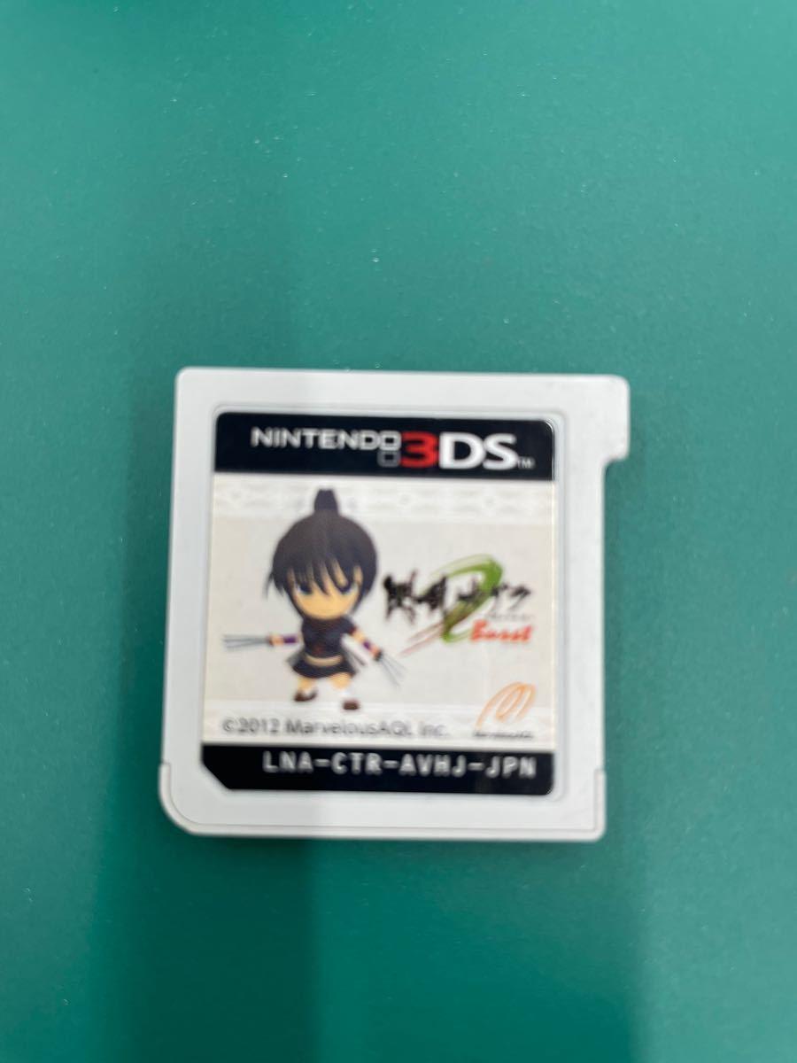 ニンテンドーDS  閃乱カグラ2 3DS 3DSソフト