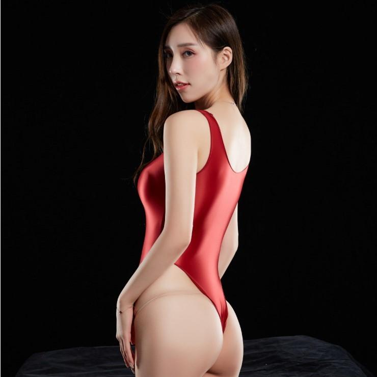 2枚セット 7色選択可 スベスベ 超肌触りの良いスクール水着 スク水 競泳 ハイレグレオタード ストレッチ コスプレ レースクイーン RT339_画像6