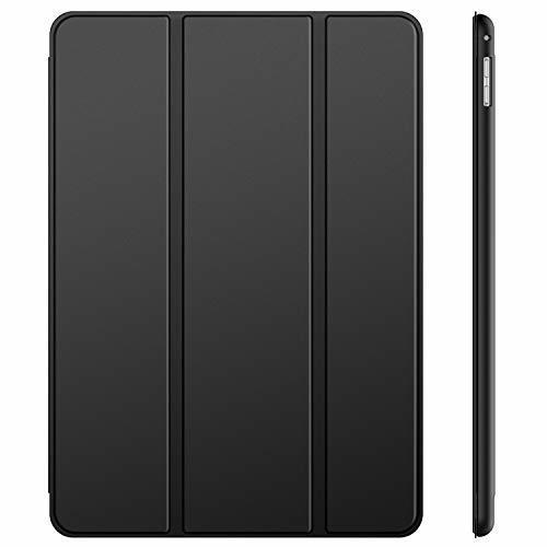 JEDirect ブラック JEDirect iPad Pro 12.9 (2015/2017型) ケース レザー 三つ折スタンド_画像1