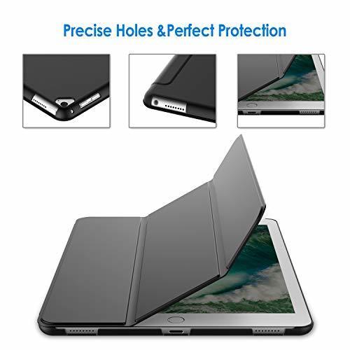 JEDirect ブラック JEDirect iPad Pro 12.9 (2015/2017型) ケース レザー 三つ折スタンド_画像5