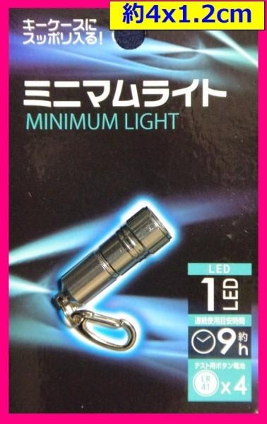 【送料無料:2個ミニ LED ライト】★ミニライト:コンパクト ライト:LED:キーホルダー ス:トラップ 懐中電灯 : 夜間 作業用 防犯 防災