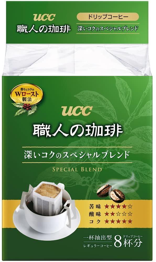 UCC 職人の珈琲 ドリップコーヒー 深いコクのスペシャルブレンド 8P×6 48杯_画像1