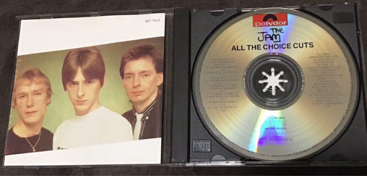 The Jam ザ・ジャム ベストCD All The Choice Cuts / Compact Snap ポール・ウェラー
