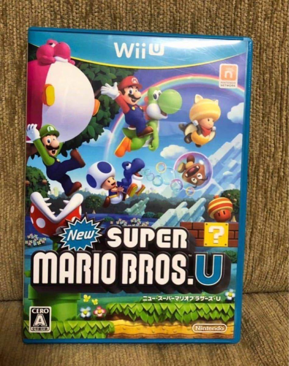 【未使用】WiiU 超人気ソフト ニュースーパーマリオブラザーズU 任天堂 マリオ WiiUソフト スーパーマリオ ルイージ