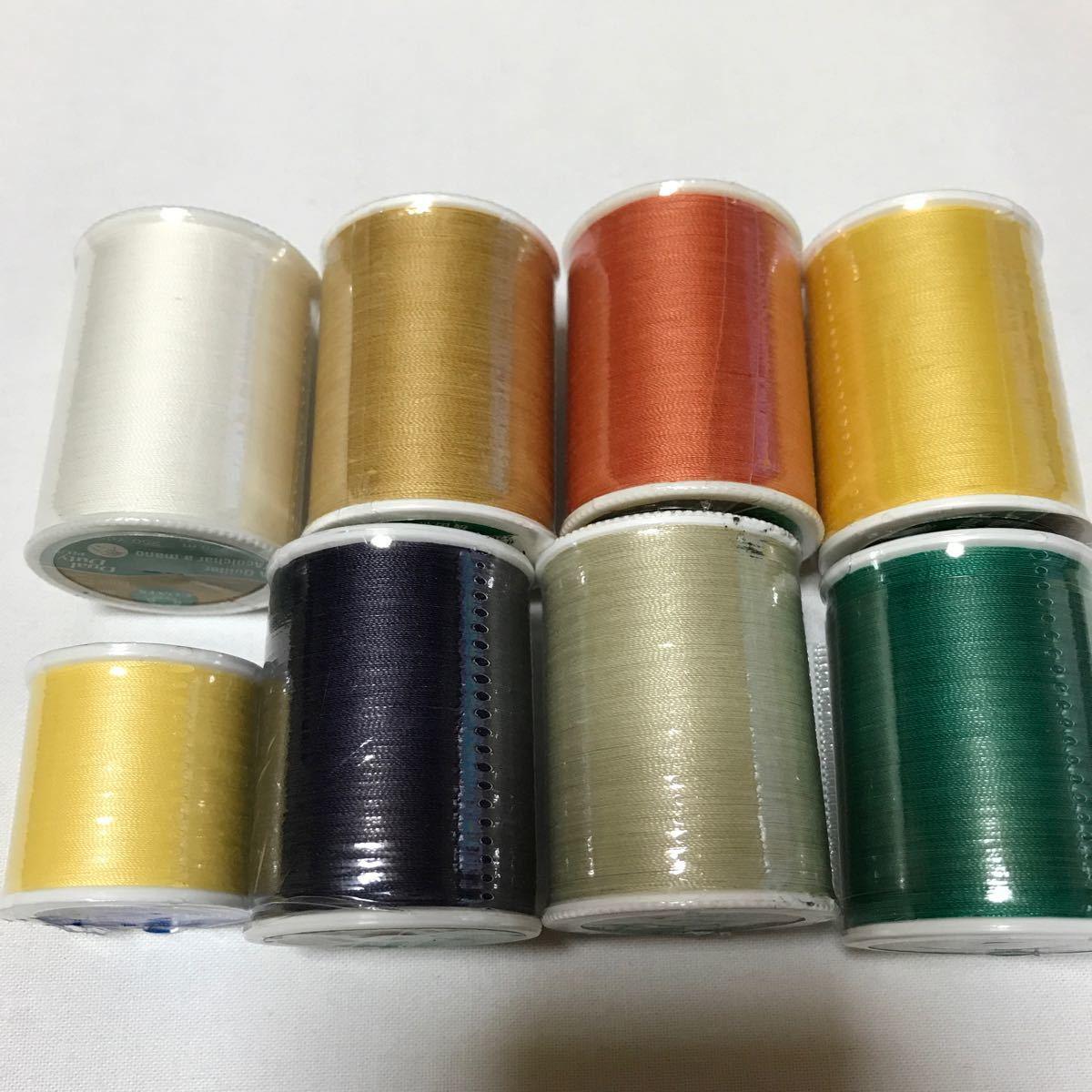 パッチワーク・キルティング糸 デュアルデューティ 8個セット