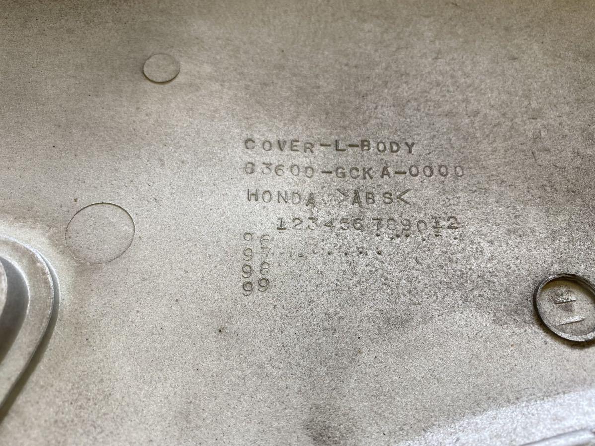 中古品!大きな割れ無し!ホンダ ジョーカー50 / 90 純正サイドカウル サイドカバー 左側 シルバー AF42・HF09型 取付問題無し!_画像9