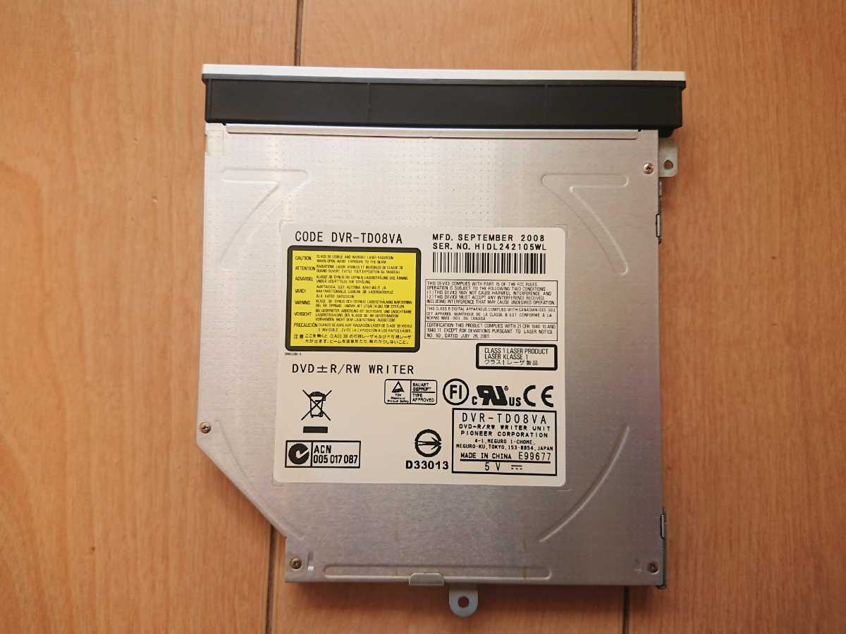 【送料無料】SONY PCG-7143N/DVR-TD08VA/DVDスーパーマルチドライブ