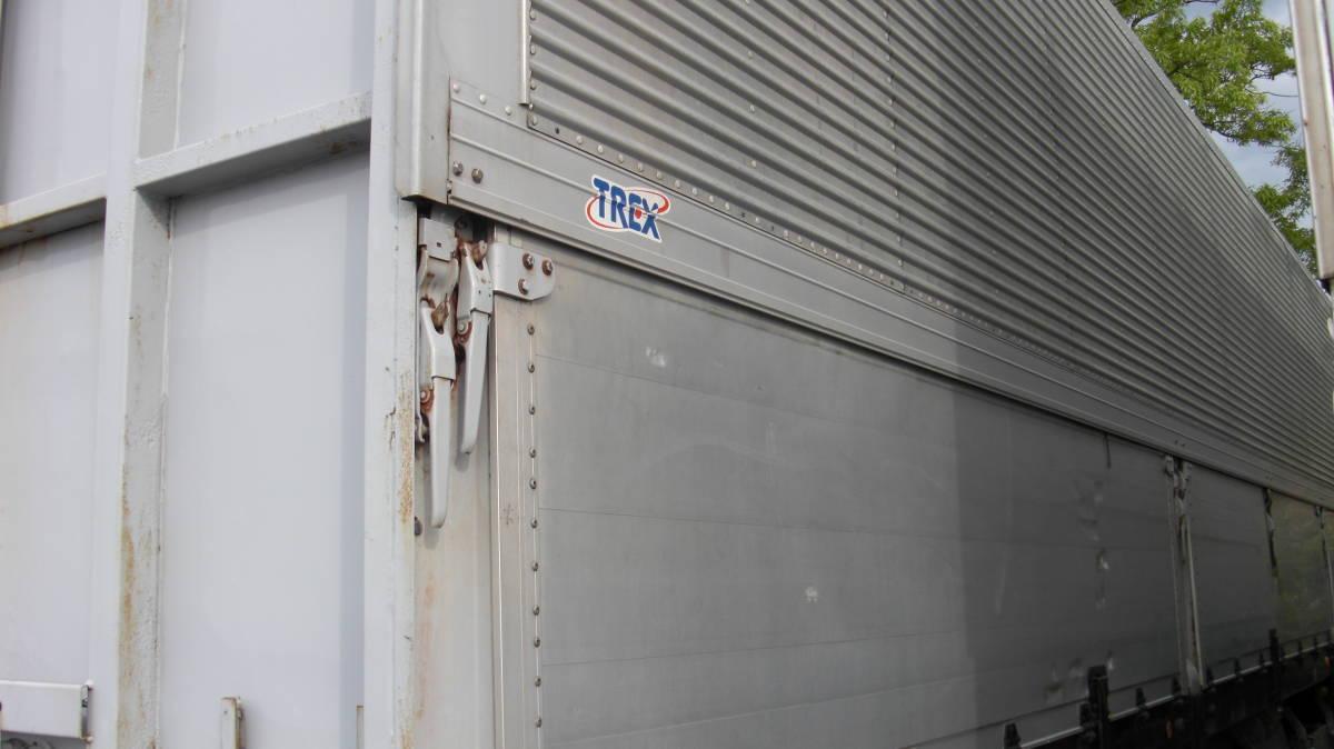 「トレクス バンセミトレーラ 初年度登録平成16年 2軸 エアサス」の画像3