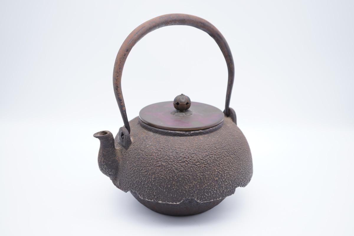 ▲祥雲堂 造 鉄瓶 煎茶道具