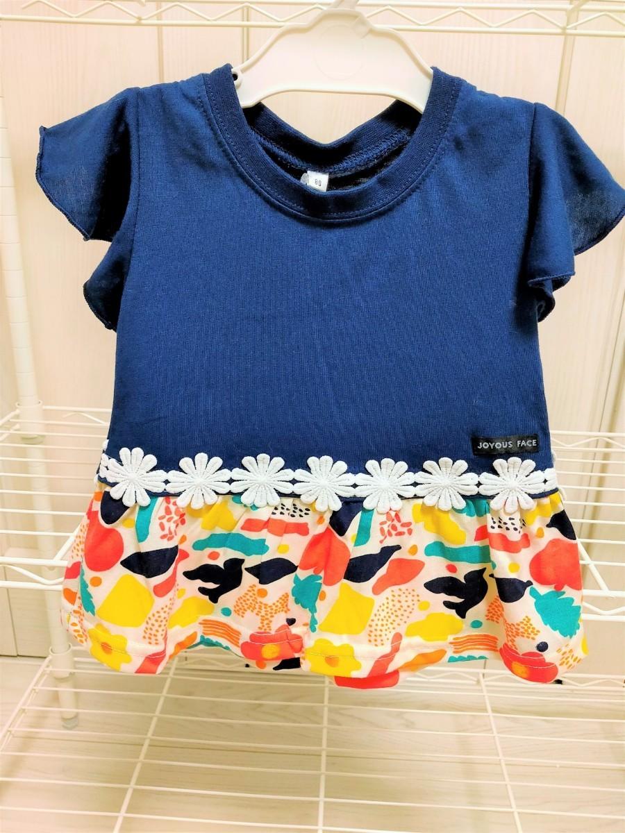 ワンピース&ワンピース風Tシャツ 2着セット