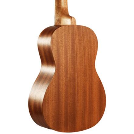 21インチ プロサペリイルカパターン ウクレレギター マホガニーネック 繊細なチューニングペグ 4弦の木製ウクレレ ギフト_画像6