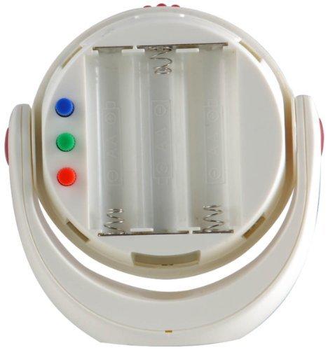 ホワイト ムサシ RITEX 「自由に曲がる三脚で様々な場所に取付可能! 」 LEDどこでもセンサーライト 調色機能搭載 ASL_画像10