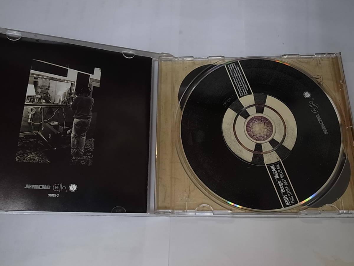 廃盤レアJERRY Boogie McCAIN/This Stuff Just Kills Meジェリー・ブギー・マッケインTommy Shannonトミーシャノン参加ダウンホーム