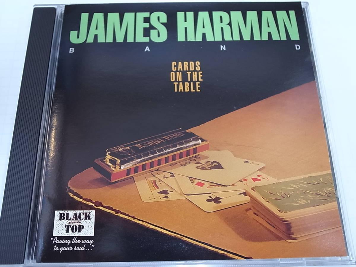 JAMES HARMAN BAND/CARDS ON THE TABLEジェームス・ハーマン・バンド/ カード・オン・ザ・テーブルBlack Topブルースハープ