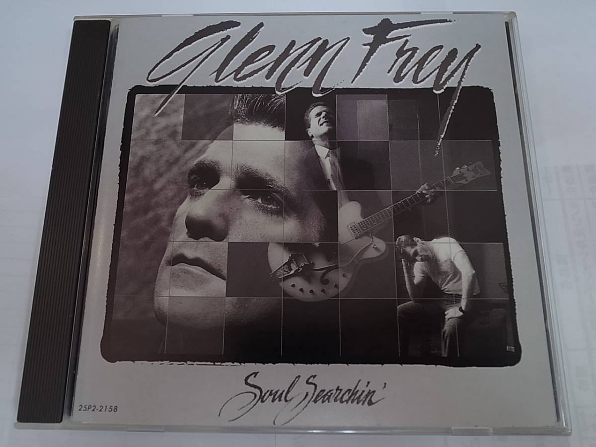 国内盤/解説/歌詞/対訳付きGlenn Freyグレン・フライ/Soul Serchin'ソウル・サーチンThe Eaglesイーグルス1988年名盤