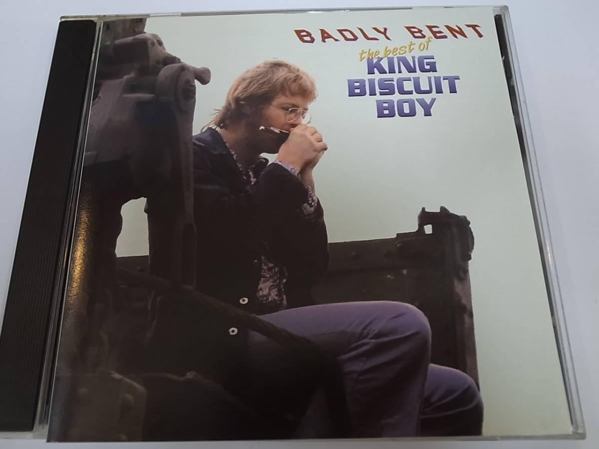 THE BEST OF KING BISCUIT BOY/BADLY BENTキング・ビスケット・ボーイRichard Alfred Newellハープブルース・ハーモニカ①