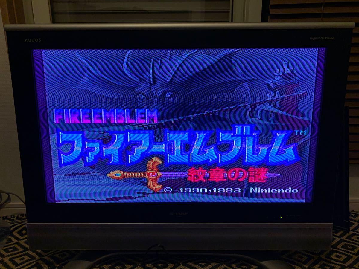 【スーパーファミコンソフト】ファイアーエンブレム 紋章の謎 SFC